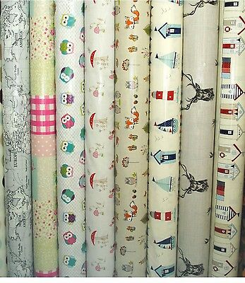 Fryetts PVC Fabric WIPE CLEAN Tablecloth Oilcloth All Designs And Sizes • 6.99£
