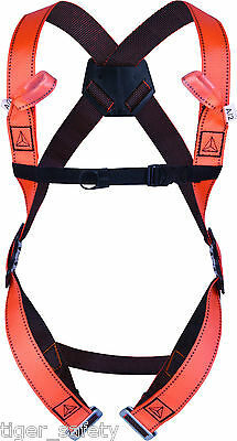 Delta Plus Froment HAR12 Fall Arrest Full Body Harness Work At Height Scaffold • 21.45£