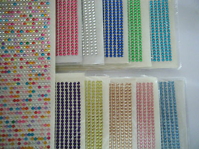 4mm Sticky Backed Cards, Scrapbook, Decoration Iphone Ipad • 0.99£