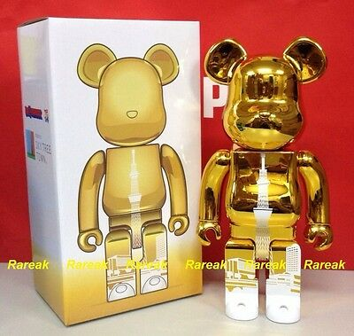$375.99 • Buy Medicom Be@rbrick Tokyo Skytree Town 400% Sky Tree Tower Metallic Gold Bearbrick