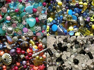 Stunning Jewellery Making Mix Glass, Shell And Tibetan Beads BUY 3 Get 4th Free • 1.99£
