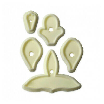 JEM Set Of 5 SINGAPORE ORCHID Flower Icing Cut Out Cutters Sugarcraft Cake Decor • 3.99£