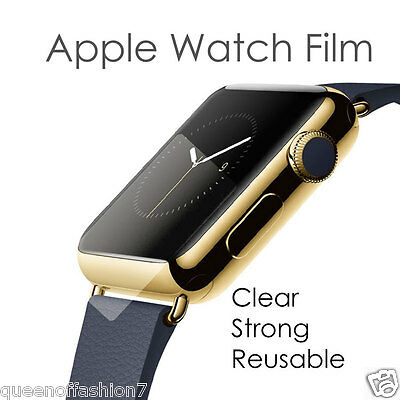 AU3.50 • Buy 1X Apple Watch Tempered Glass Clear Screen Protector/Cover/Film For 42/38mm