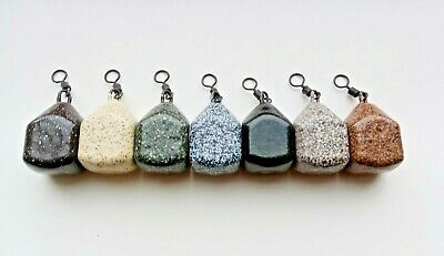 5oz Dumpy Dice Square Pear Fishing Leads Fishing Weights Uncoated Sea Carp