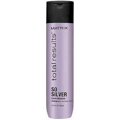 £10.59 • Buy Matrix NEW Total Results Color Obsessed So Silver Shampoo 300ml