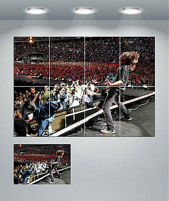 Foo Fighters Dave Grohl Giant Wall Art Poster Print • 14.50£