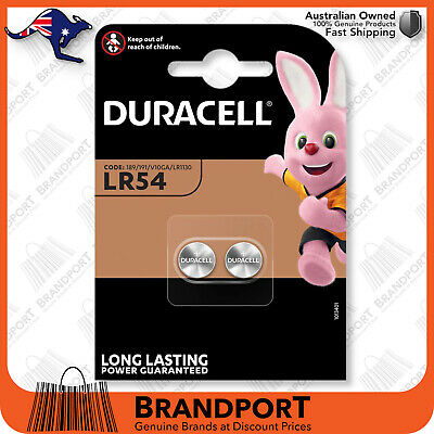 AU7.10 • Buy Duracell LR54 189 KA54 AG10 Button Cell LR1130 L1131 SR1130 1.5v Battery EXP2023
