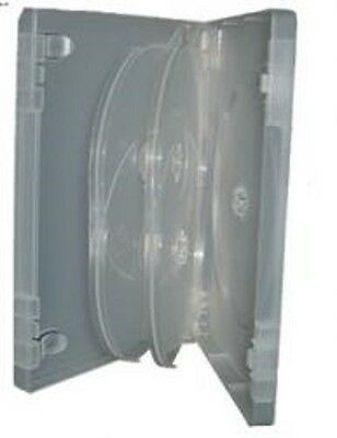 AU11 • Buy Dvd Case Super Clear Fat Pack ( Holds 5 Discs) 6pack