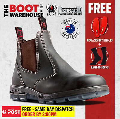AU107.95 • Buy Redback UBOK Non Safety Work Boots. Elastic Sided Bobcat. Oiled-Kip. Brand New