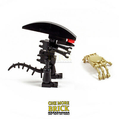 £7.99 • Buy Alien Xenomorph And Facehugger | Custom Kit Made With Real LEGO