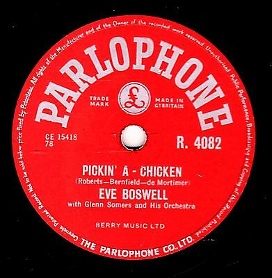 £11 • Buy George Martin - Eve Boswell 78  Pickin' A Chicken / Blue Star Uk#9 Parl R4082 E-