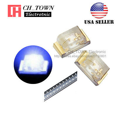 $8.33 • Buy 100PCS 0402 (1005) SMD SMT LED Blue Light Emitting Diodes Ultra Bright USA