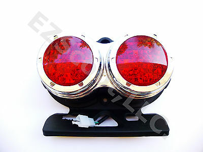 AU21.96 • Buy Tail Light Assembly Chinese Scooter Gy6 4 Stroke Roketa Mc-22& 22y Jonway Znen