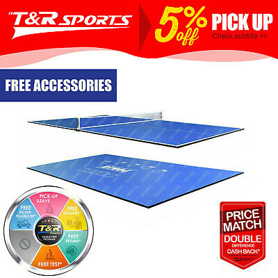 AU199.99 • Buy New 8FT 2-Piece Poker/Table Tennis/Ping Pong/Dinning Top For Pool Table