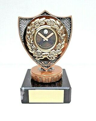 £7.99 • Buy Rounders Trophy, Solid Plastic Top, Marble Base. Size 9.5 Cm Free Engraving
