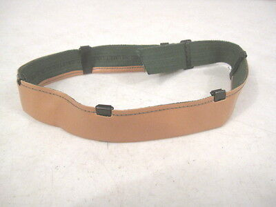 $10.99 • Buy WWII Thru Vietnam M1 Or M1C Helmet Liner - Leather Sweatband Assembly - Repro