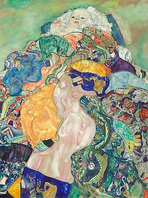 $ CDN23.34 • Buy Gustav Klimt Austrian Baby Cradle Old Art Painting Poster Print Bb5545a