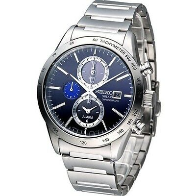 $ CDN393.83 • Buy NEW Seiko SPIRIT Elegant Men's Watch Solar CHRONOGRAPH SBPY115  F/S JAPAN