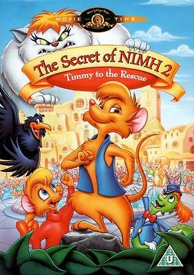 The Secret Of Nimh 2 : Timmy To The Rescue (DVD / Dick Sebast 1998) • 3.99£
