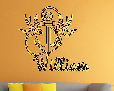 £19.83 • Buy Personalized Name Wall Decal Custom Family Name Vinyl Sticker Wall Art Decor 24