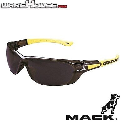 AU20 • Buy New MACK SAFETY SUN GLASSES- DUO BROWN & YELLOW- 1,3 Or 8pk- AS/NZS Certified