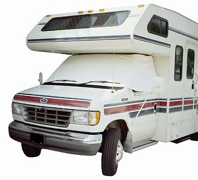 $44.99 • Buy ADCO 2411 RV Windshield Cover White Snooze Bonnet For Class C Dodge 1998-2003
