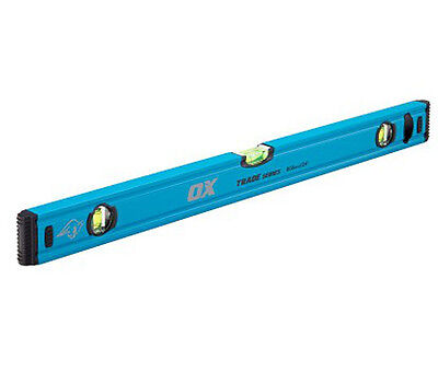OX Tools Trade Spirit Level With 3 Vial 600mm 900mm 1200mm 1800mm • 19.99£