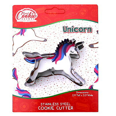 AU9 • Buy Unicorn Cookie Cutter - Stainless Steel