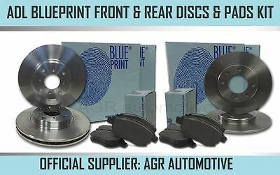 AU244.96 • Buy Blueprint Front + Rear Discs Pads For Mini R53 1.6 Supercharged Works 2001-03