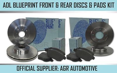 AU238.63 • Buy Blueprint Front + Rear Discs Pads For Mini R53 1.6 Supercharged Works 2003-06
