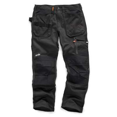 Scruffs Work Trousers 3d Trade Graphite With Cordura Fabric & Knee Pad Pockets • 34.50£