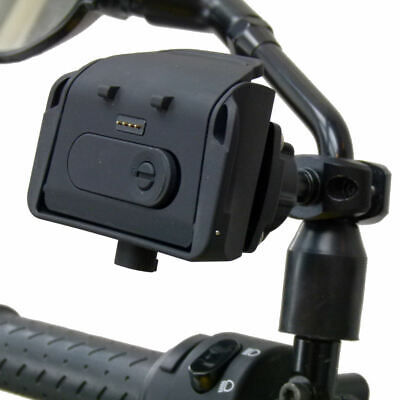 £67.99 • Buy BuyBits Powered Motorcycle Mirror Mount Dock For TomTom Rider PRO