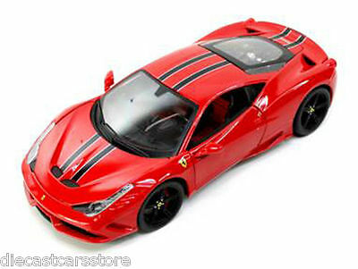 Ferrari 458 Red Speciale Signature Series 1:18 Diecast Model Car Bburago 16903  • 34.89£