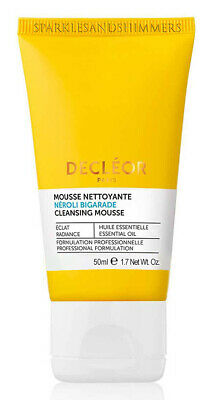 Decleor Neroli Bigarade CLEANSING MOUSSE Face Wash Cleanser For Dry Skin 50ml • 19.99£