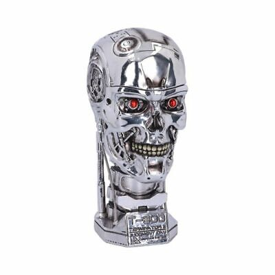 £33.50 • Buy T-800 Terminator 2 Tall Head Box Silver Skull Movie Collectable Official