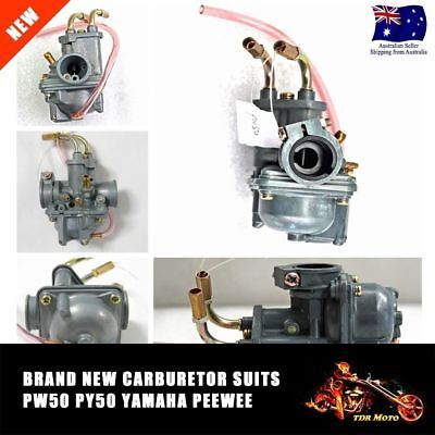 $ CDN32.84 • Buy For YAMAHA PW50 PEEWEE 81-14 CARBURETOR ASSEMBLEY CARBY CARB PeeWee 50 PY50 PW50