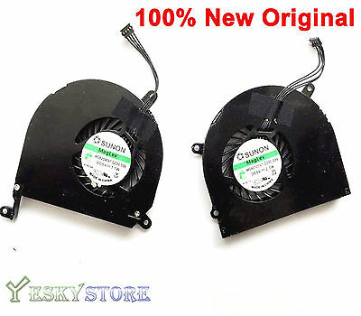 $19.50 • Buy New For Macbook Pro A1286 15  CPU Cooling Fan 2009 2010 2011 Left And Right Side