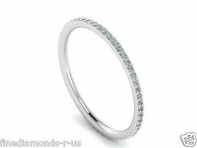 0.25 Carat Round Brilliant Cut Diamond Full Eternity Ring In White & Yellow Gold • 199.20£