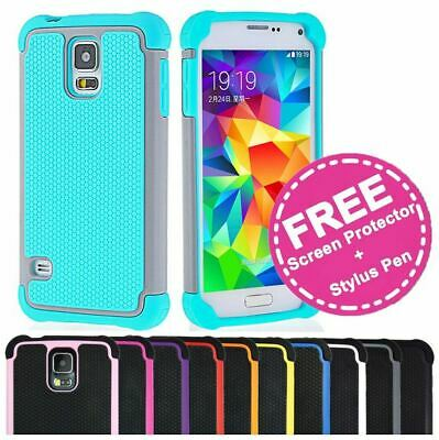 AU5.95 • Buy Shockproof Heavy Duty Case Hard Tough Shock Cover For Samsung Galaxy S5 G900I SV