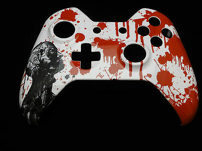 $12.99 • Buy Blood Zombie Hydro Dipped, Front Shell For Xbox One Controller - New