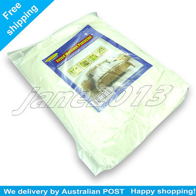AU13.65 • Buy 2X Waterproof Double Mattress Protector Cover Fitted Plastic Sheet Bed AU STOCK