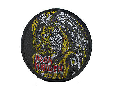 £2.20 • Buy IRON MAIDEN Embroidered Rock Band Sew On Patch UK SELLER Patches