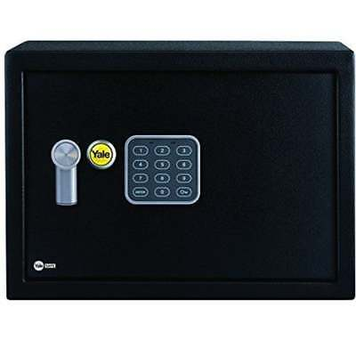 Yale Small Electronic Digital Safe Keypad Steel Deposit Box Security Home Office • 32.99£