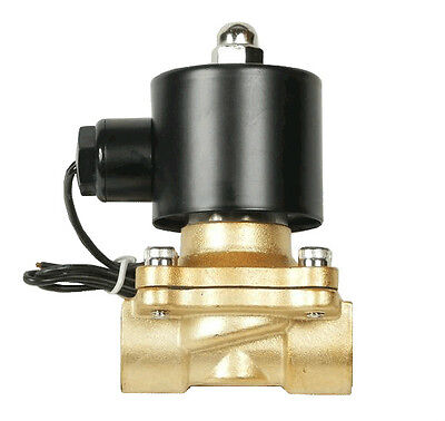 $17.76 • Buy Air Ride Suspension Valve 3/8 Npt Brass Electric Solenoid For Train Horn Fast