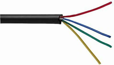 7-2-4A  Multicore Unscreened Cable, 4 Core, 0.22 Mm², 7 X 0.2mm • 3.99£