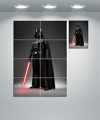 Star Wars Darth Vader Lightsaber Giant Wall Art Poster Print • 14.50£