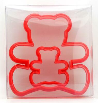 £2.89 • Buy Teddy Bear Cookie Cutter Set Of 2, Biscuit, Pastry, Fondant Cutter