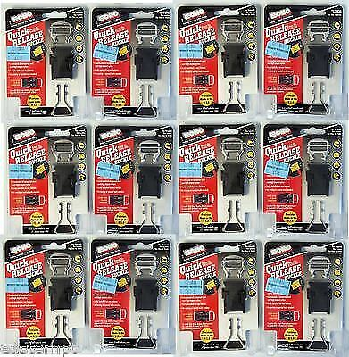 £57.32 • Buy 12 Pcs Motorcycle Quick Release Buckle Lot Of 12 Helmet Chin Strap Clip Echo