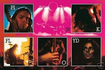 $9.95 • Buy PINK FLOYD - LIVE COLLAGE POSTER - 24x36 CONCERT MUSIC 3366