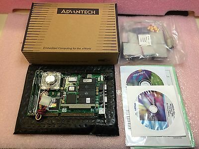 AU502.37 • Buy Pca-6144s Advantech Rev-b2 Half Size 486 Cpu Card W/ssd 1 Unit Nib